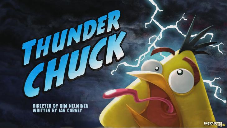 Тизер  Angry Birds Toons 12 Thunder Chuck