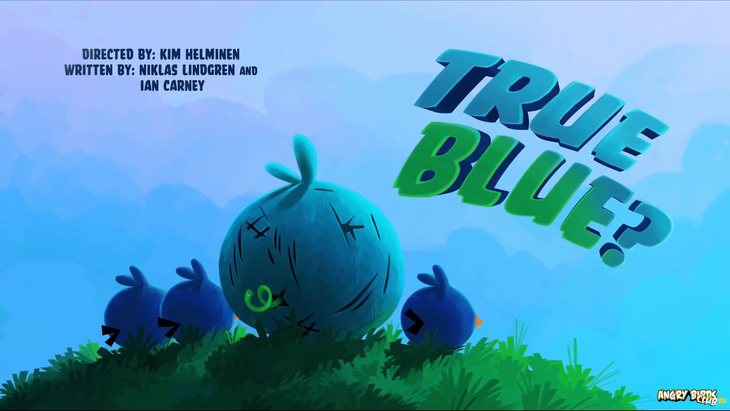 Тизер Angry Birds Toons True Blue