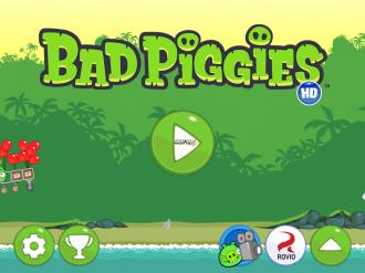 Bad Piggies Rise And Swine: Меню