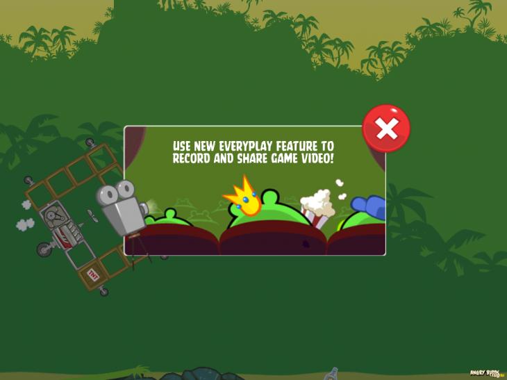Анонс видеозаписи игрового процесса Bad Piggies