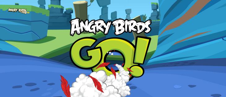 Анонс Angry Birds Go!