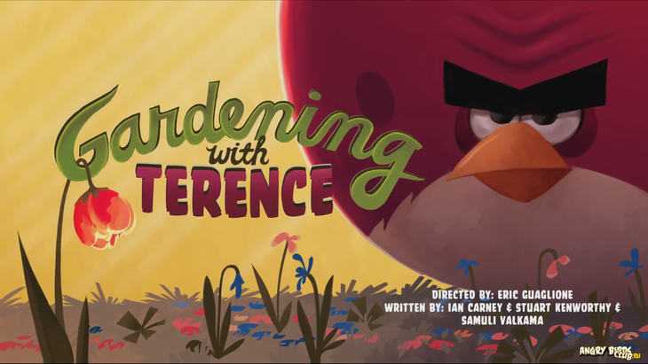 Тизер Angry Birds Toons 13 Gardening with Terence