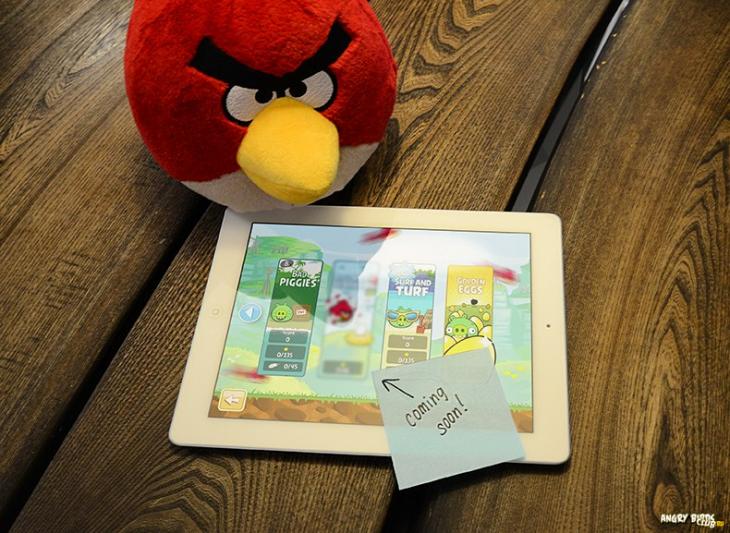 Картинка про Красного из соцсетей Rovio