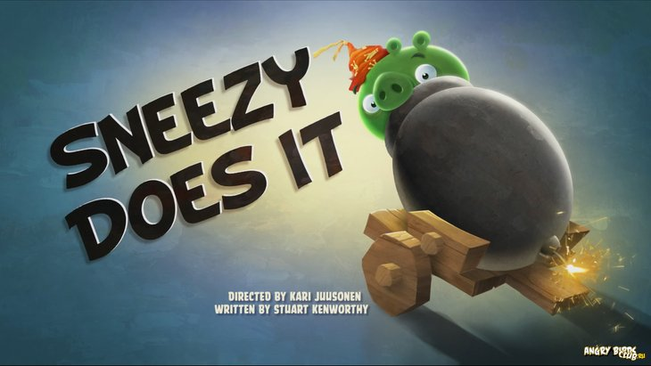 Тизер Angry Birds Toons 19 Sneezy Does It