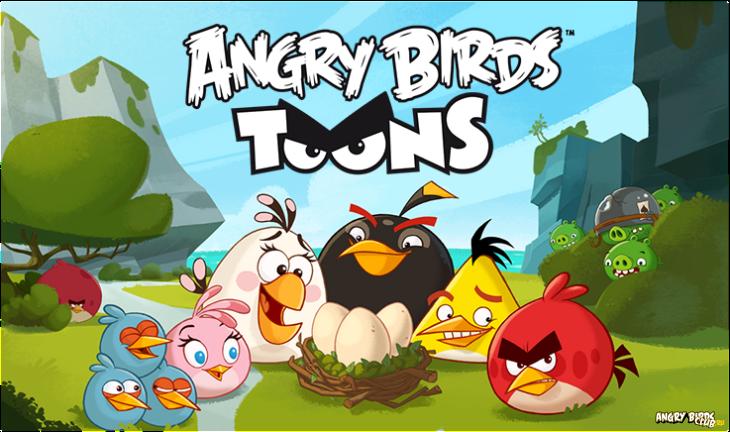Мультсериал Angry Birds Toons