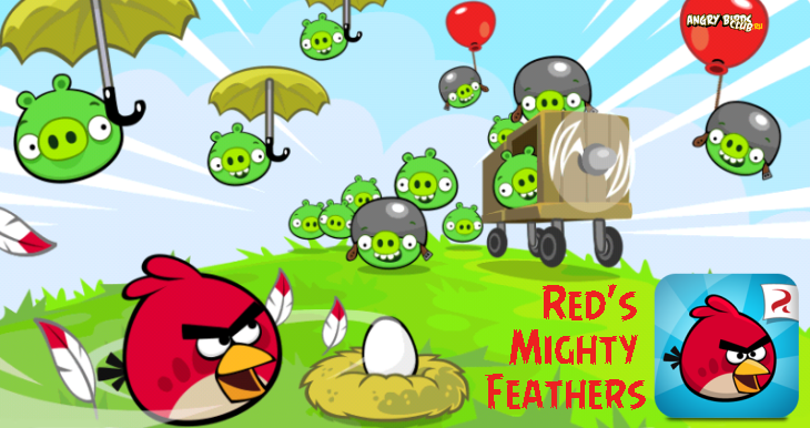 Вышел эпизод Angry Birds Red's Mighty Feathers