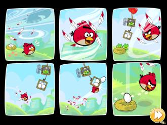 Red's Mighty Feathers - Комикс, часть 1