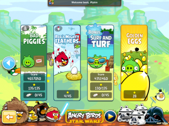 Angry Birds - Red's Mighty Feathers - Выбор эпизода