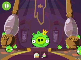 Bad Piggies: Кормим Короля