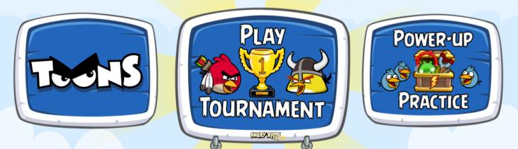 Angry Birds Friends Mobile научилась показывать AB Toons