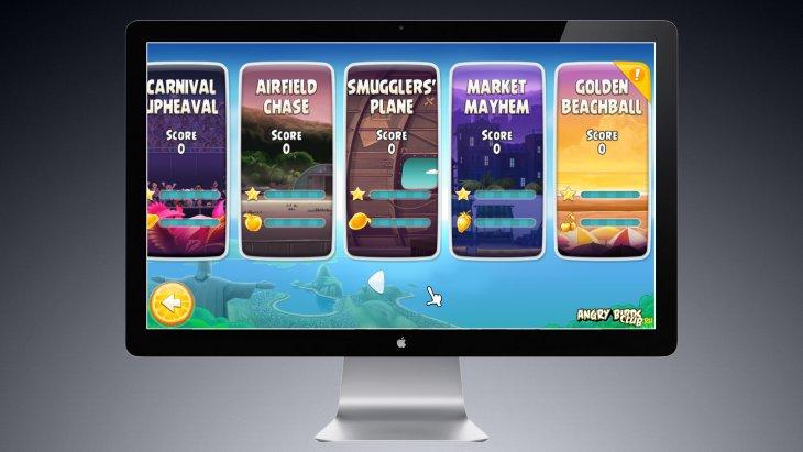 Angry Birds Rio обновилась на PC и Mac