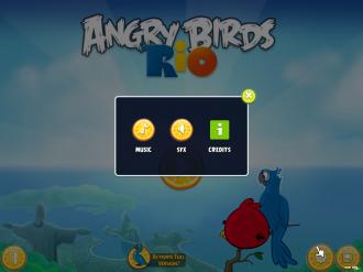 Angry Birds Rio PC: Настройки