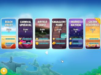 Angry Birds Rio PC: Выбор эпизода