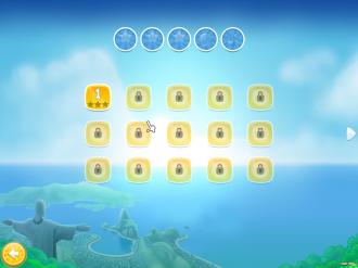 Angry Birds Rio PC: Выбор уровня