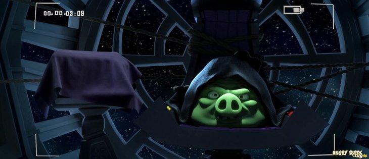 Переходи на Свиную Сторону в Angry Birds Star Wars II