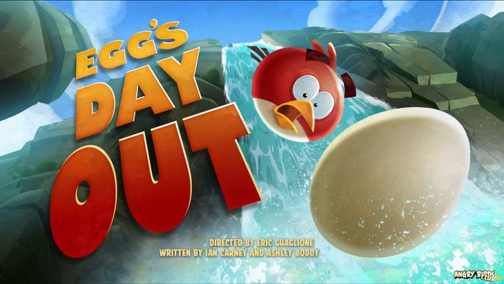 Тизер Angry Birds Toons 22 Eggs Day Out