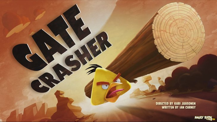 Тизер Angry Birds Toons 23 Gate Crasher