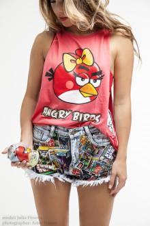 Red GirlBird