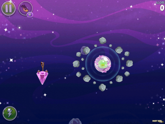 Angry Birds Space Cosmic Crystalls - Уровень 7-1