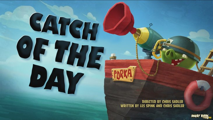 Тизер Angry Birds Toons 28 Catch of the Day