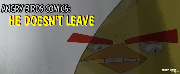 """Комикс """"He doesn't leave"""" от Nerdy Bird"""