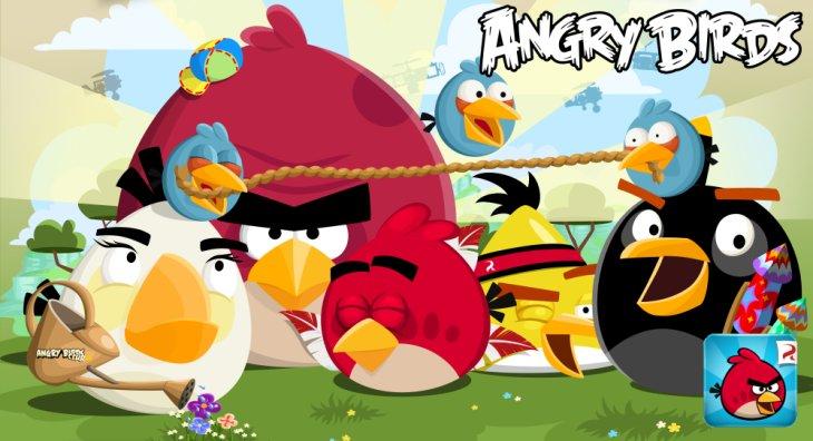 Классическое обновление Angry Birds Red's Mighty Feathers