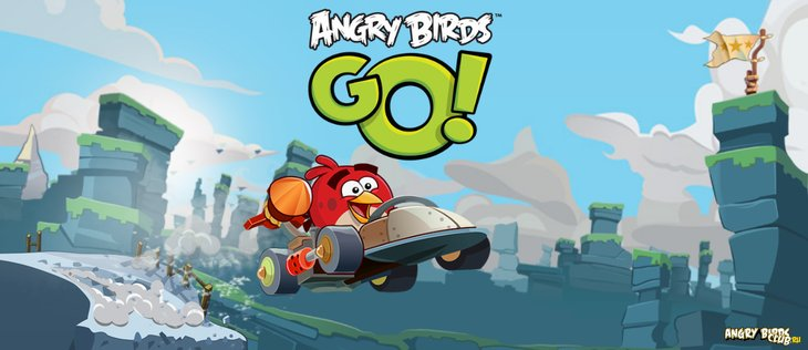 Названа дата выхода Angry Birds Go!