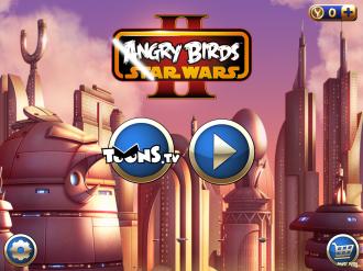 Angry Birds Star Wars II - Меню