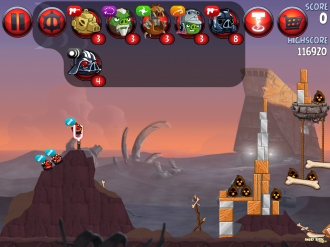 Angry Birds Star Wars II - Смена Героев