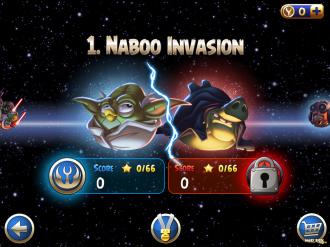 Angry Birds Star Wars II - Выбор эпизода