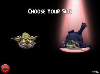 Angry Birds Star Wars II - Выбор стороны
