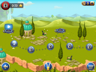 Angry Birds Star Wars II - Выбор уровня