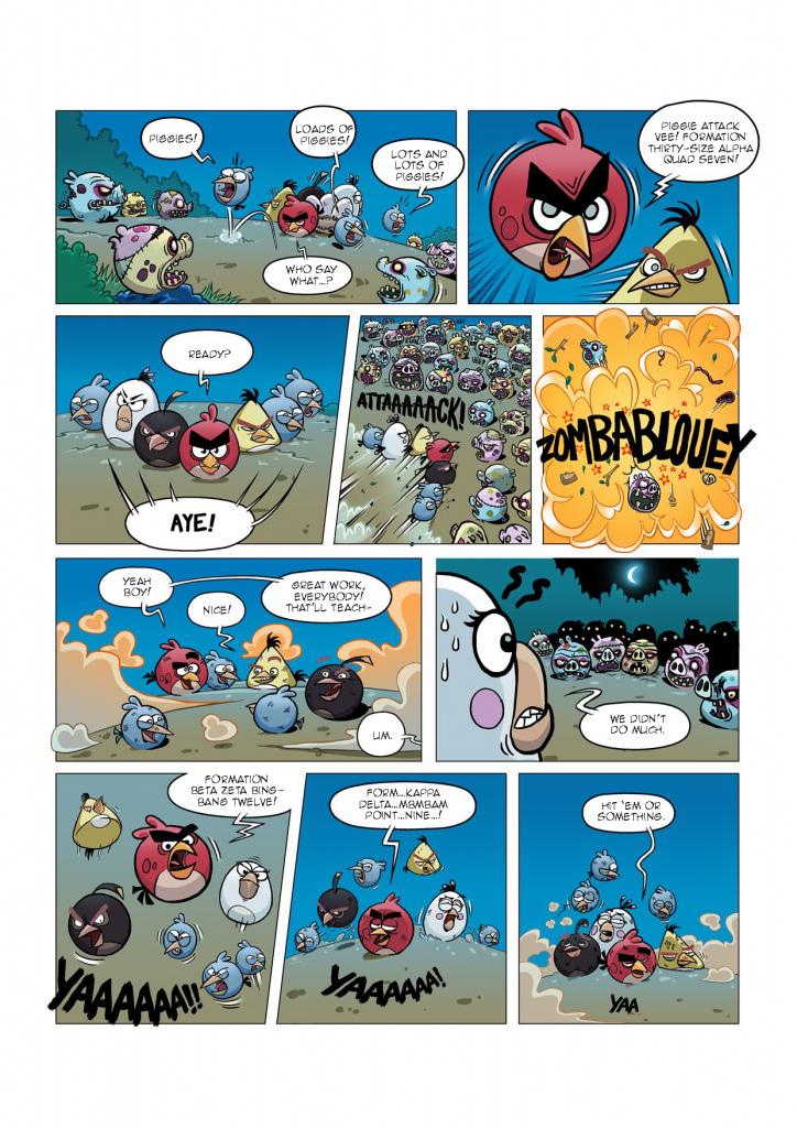 Комикс Angry Birds: Night of The Living Zigs - Часть 5
