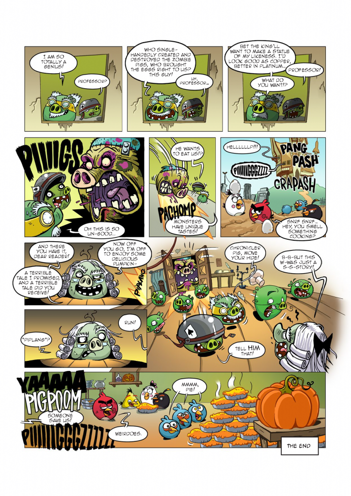 Комикс Angry Birds: Night of The Living Zigs - Часть 8
