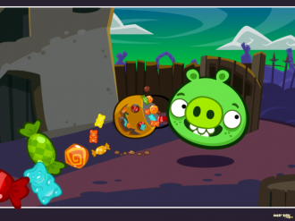 Bad Piggies Tusk 'Til Dawn: Комикс