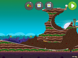 Bad Piggies Tusk 'Til Dawn: Уровень 5-1