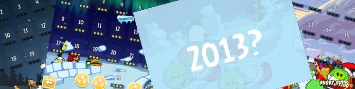Angry Birds Seasons могут обновиться под Новый Год