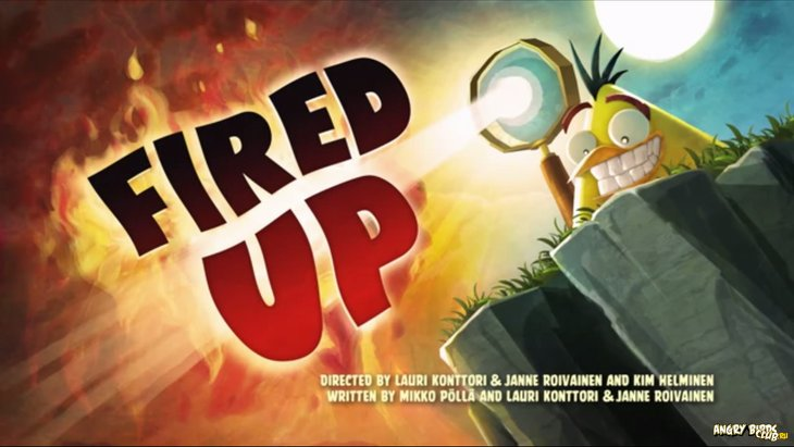Тизер Angry Birds Toons 36 Fired Up