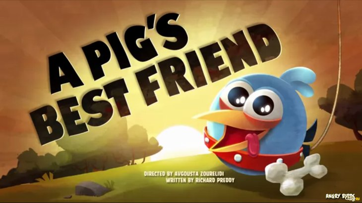 Тизер Angry Birds Toons 38 A Pig's Best Friend