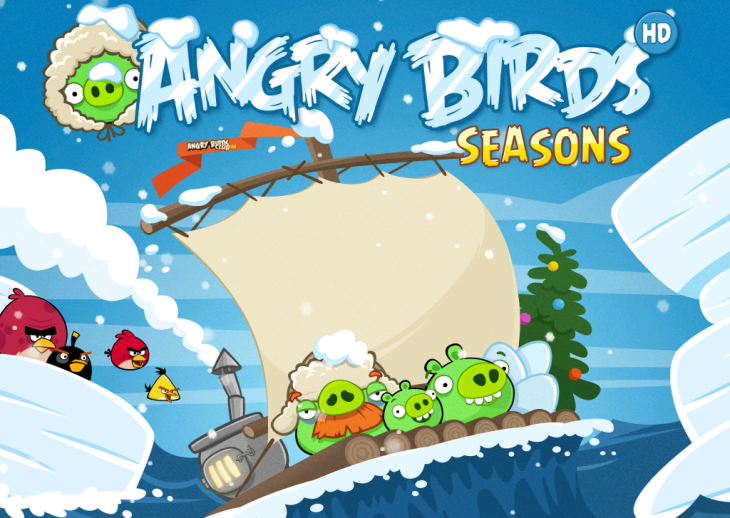 Вышла Angry Birds Seasons Arctic Eggspedition