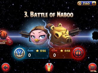 Battle of Naboo - Выбор эпизода