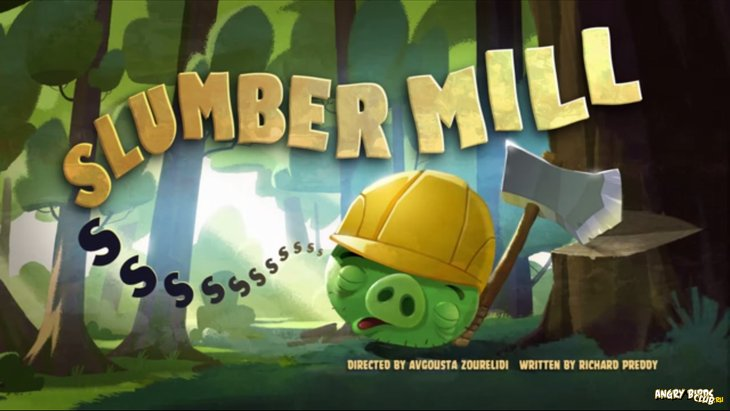 Тизер Angry Birds Toons 39 Slumber Mill