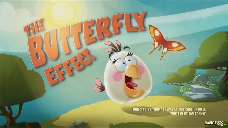 Тизер Angry Birds Toons 43 The Butterfly Effect
